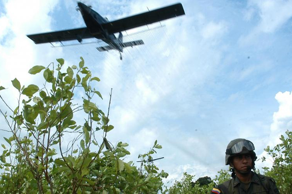 The 'deja vú' of aerial crop spraying in Colombia