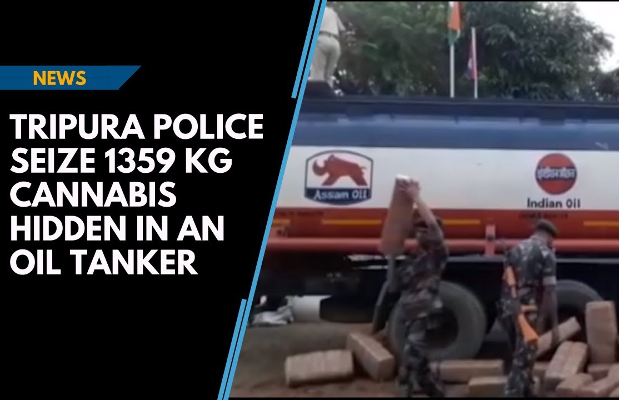 india tripura cannabis seizure