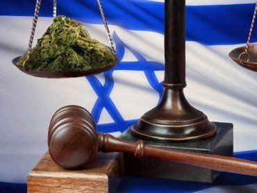 israel cannabis flag court